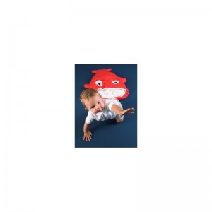 Saco Rojo con forro topos- Baby Bites